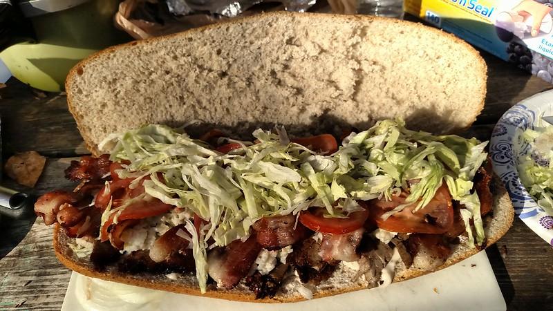 how to serve beef brisket sandwich