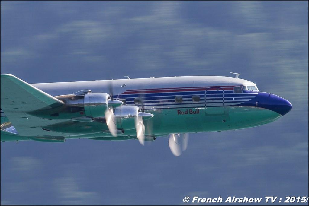 Douglas DC-6, N996DM , Red Bull - The Flying Bulls, Douglas DC-6B, Sankt Wolfgang / St Wolfgang : Austria , scalaria air challenge 2015, Meeting Aerien 2015