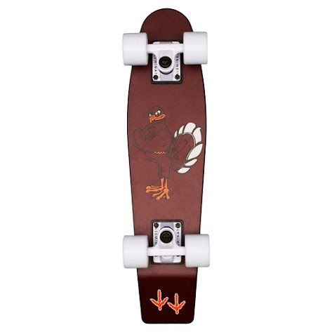 Virginia Tech Aluminati Skateboard