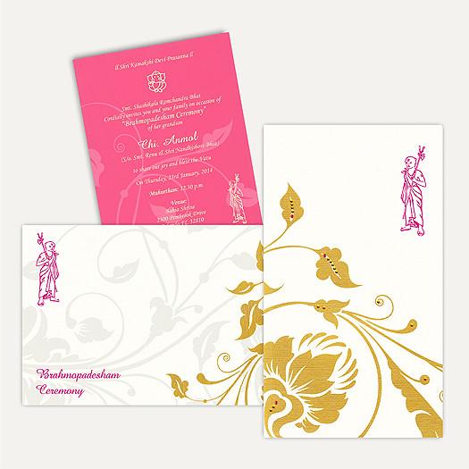 Wedding Invitations - Thread Ceremony Cards - TC2133 | Flickr