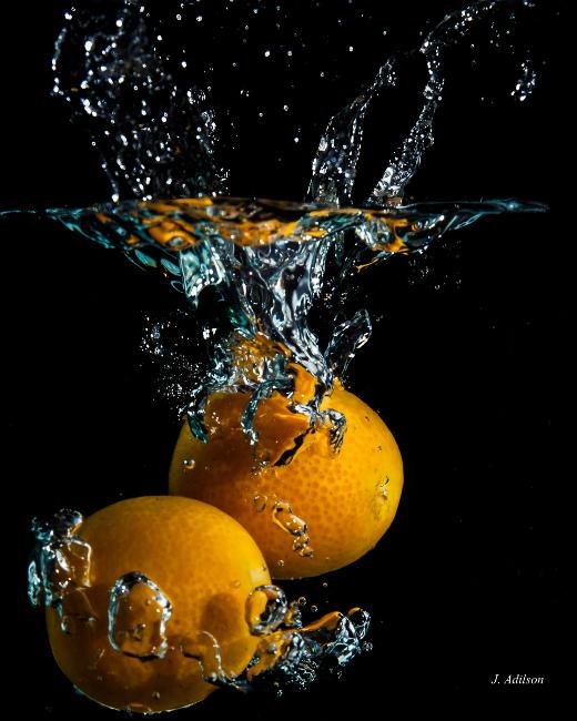 Fotografia em palavras: Fruta: Laranja