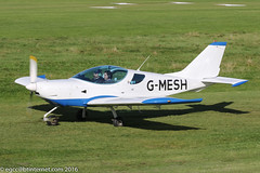 G-MESH - 2009 build CZAW Sportcruiser, taxiing for departure at Barton