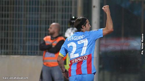 Biagianti, un gol fondamentale per il futuro del Catania...