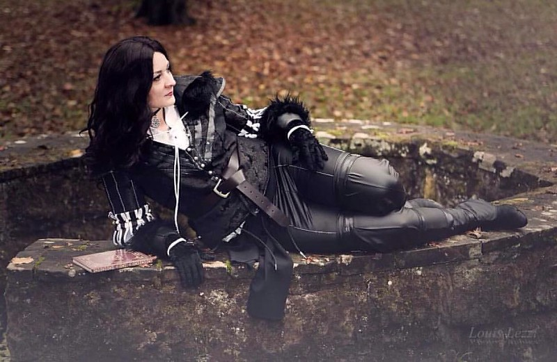 Picture of my Yennefer costume by Louis Lezzi 😊 #cosplay #thewitcher #yennefer
