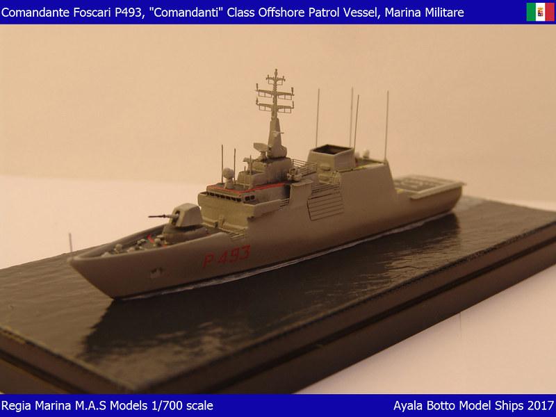 Foscari P493, Patrouilleur de la Classe Cigala Fulgosi 1/700 31181068174_6f5616c044_c