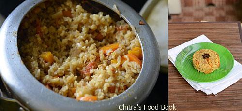 brown rice biryani recipe