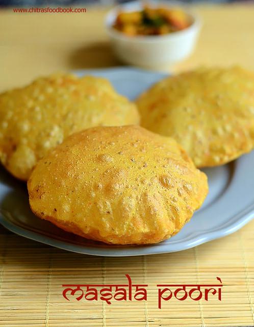 Gujarati masala puri recipe