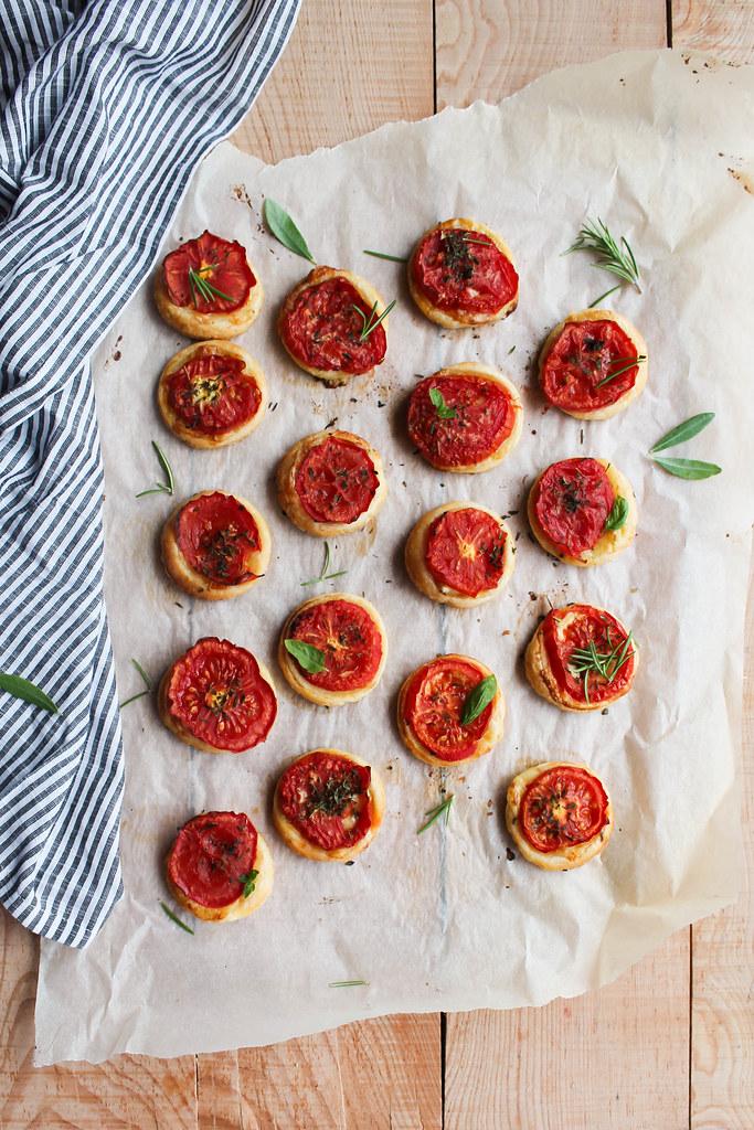 Tartelette tomate