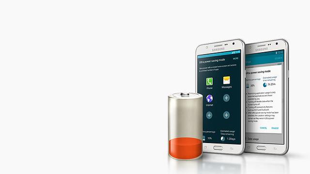 Samsung Galaxy J5 có chế độ tiết kiệm pin
