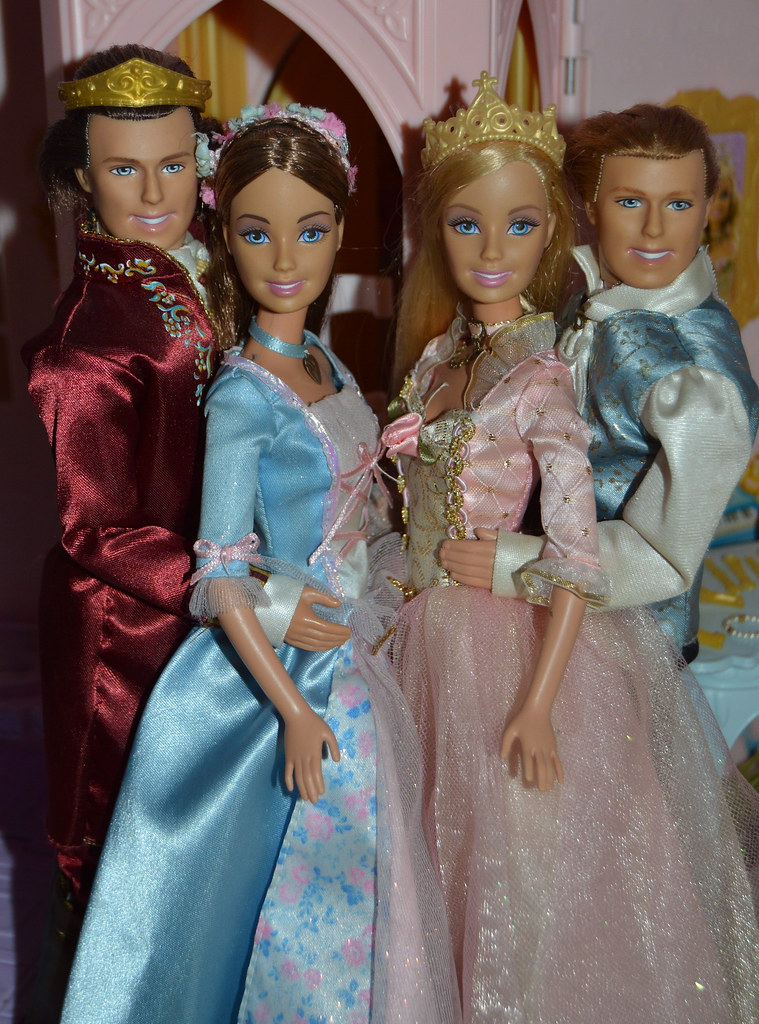 Barbie The Princess and the Pauper Dominic, Erika, Annelie ...