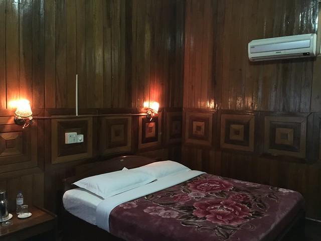 Habitación de hotel en Myanmar
