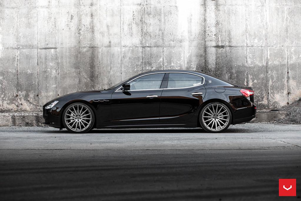 Maserati Ghibli S Q4 >> Maserati - Ghibli - VFS-2 - Graphite - © Vossen Wheels 201 ...
