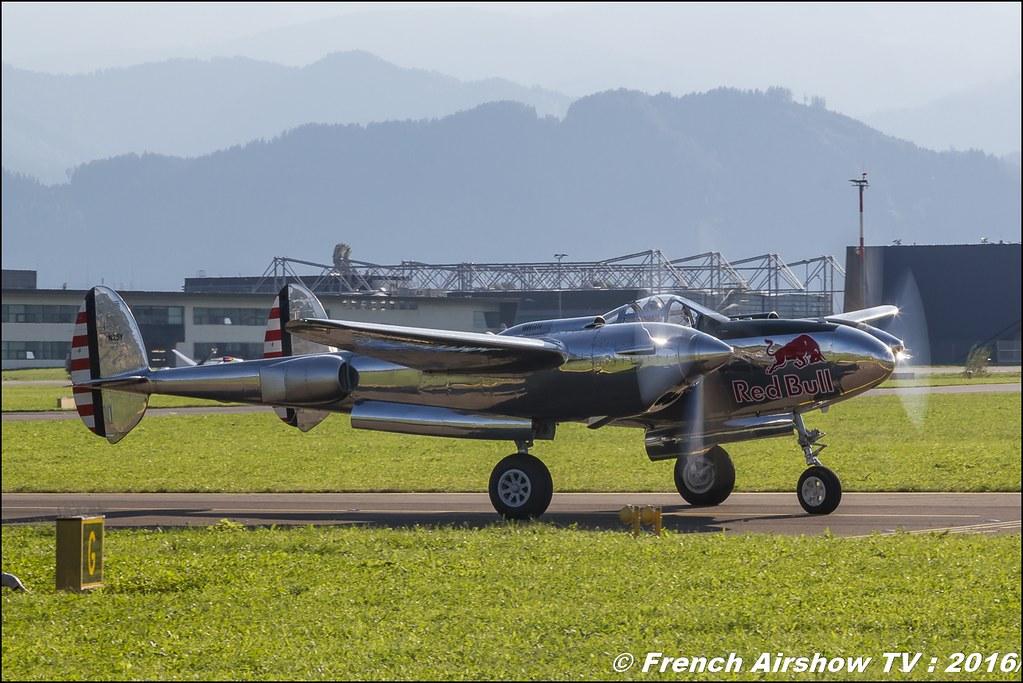 The Flying Bulls - Hangar-7 , B-25J Mitchell, P-38 Lightning , Alphajet , F4U-4 CORSAIR , www.flyingbulls.at , airpower zeltweg 2016 , AIRPOWER16 - Österreichs Airshow , Steiermark , Austria, Canon Reflex , EOS System