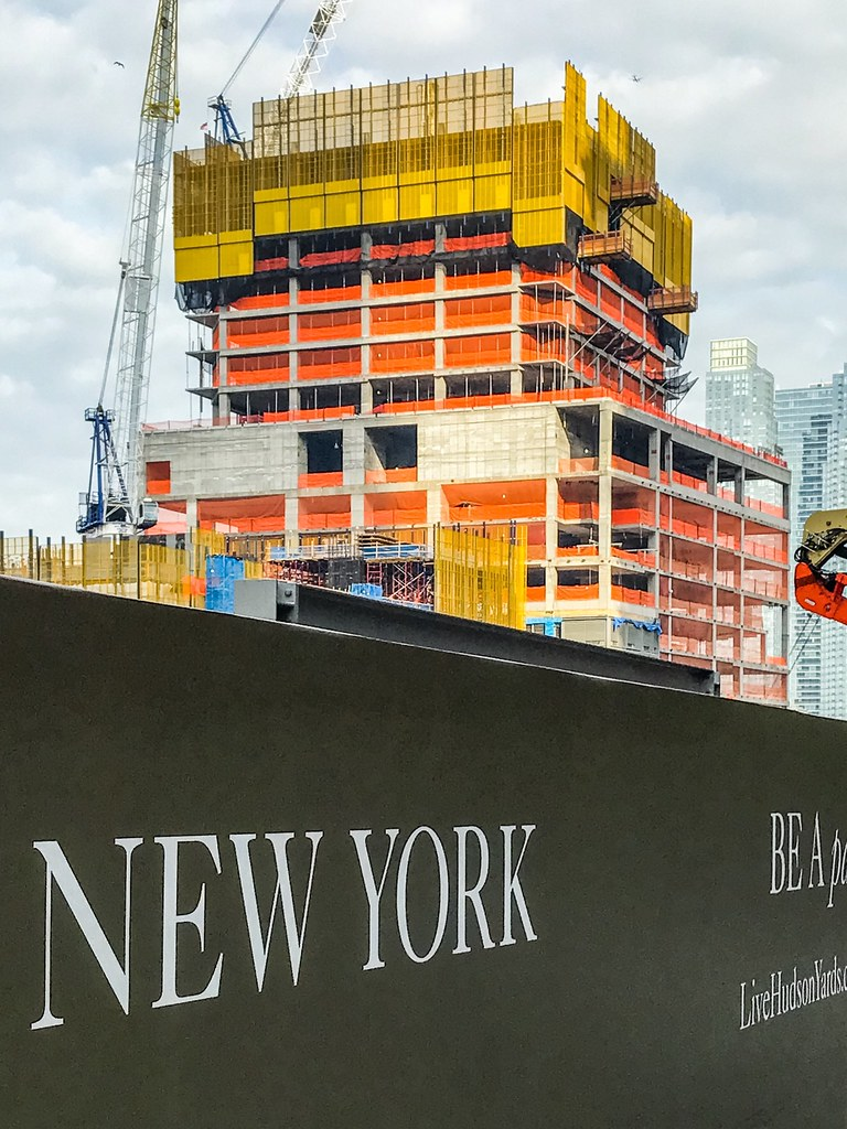 New York 55 Hudson Yards 780 Ft 51 Floors Under