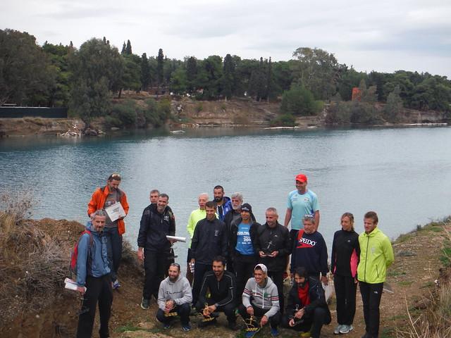 Τελετη απόνομης στον αρχαιο χωρο της Διολκού στο Λουτρακι