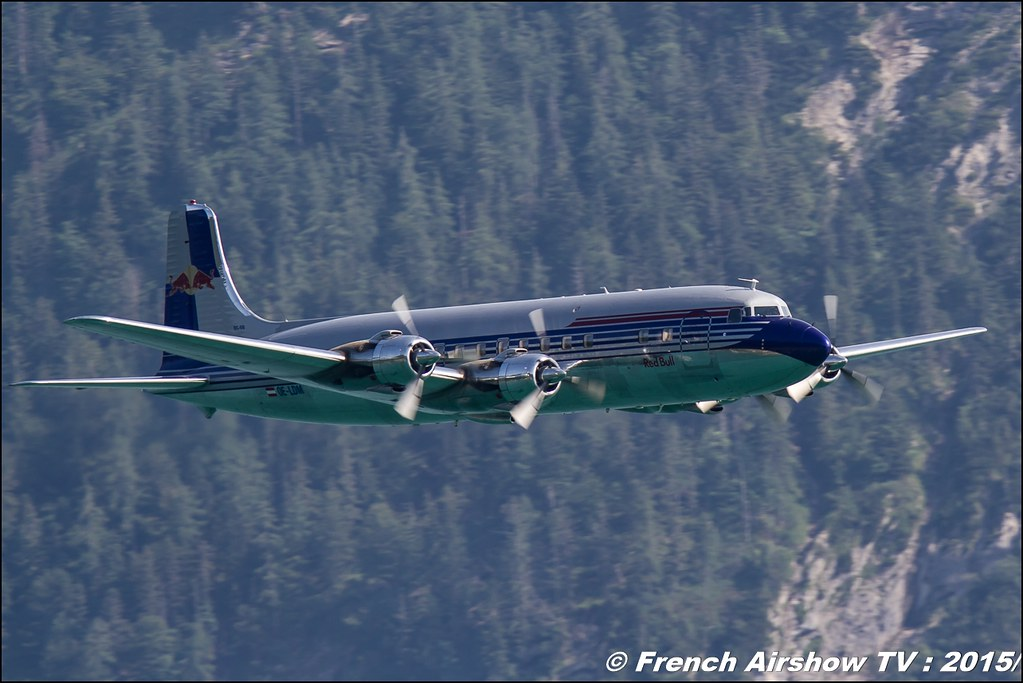 Douglas DC-6, N996DM , Red Bull - The Flying Bulls, Douglas DC-6B, Sankt Wolfgang / St Wolfgang : Austria , scalaria air challenge 2015, Meeting Aerien 2015
