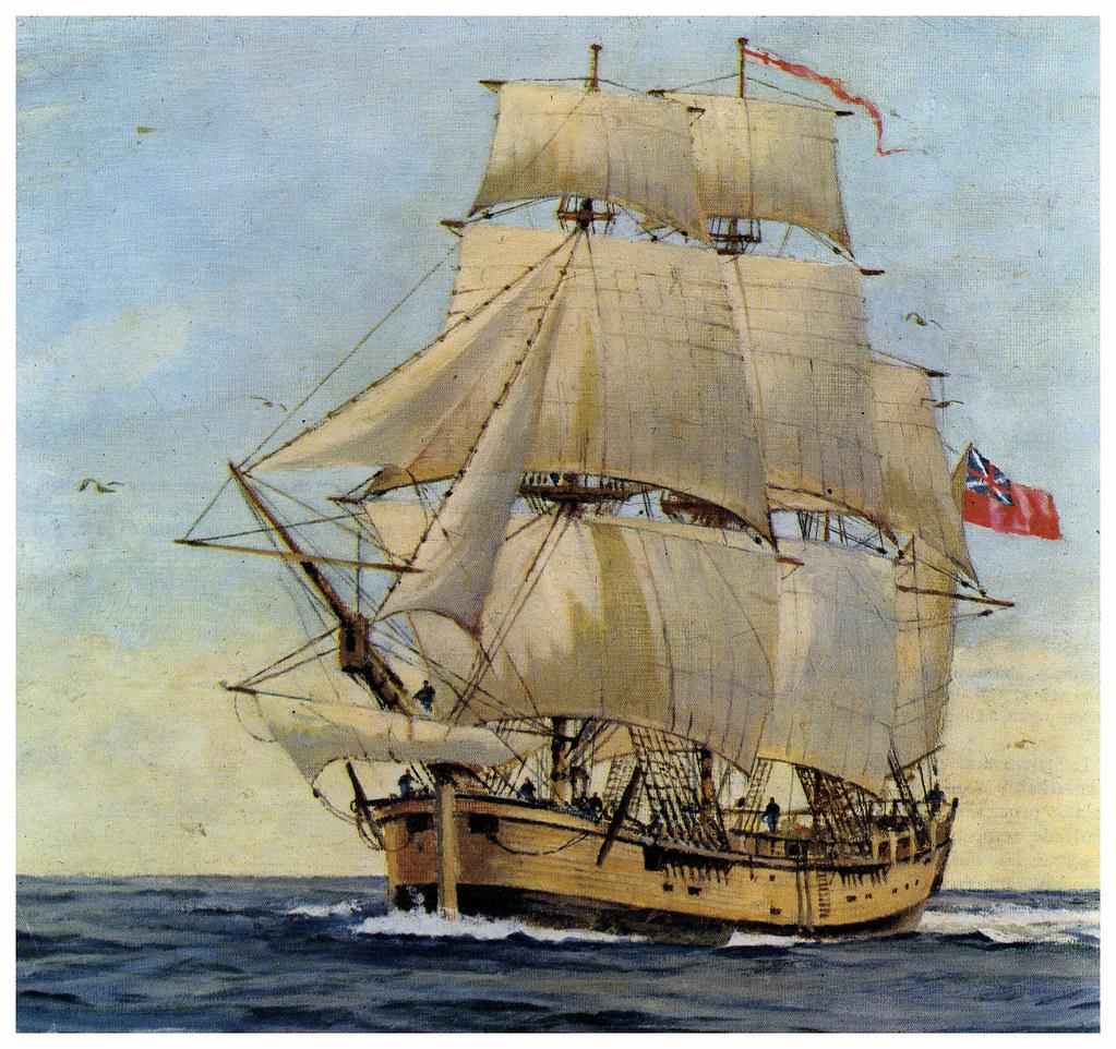 Hms Endeavour On 26 August 1768 Captain James Cook Depart Flickr