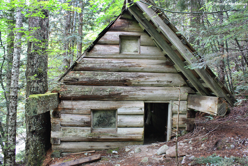 Abandoned Log Cabin Cascade River Washington State