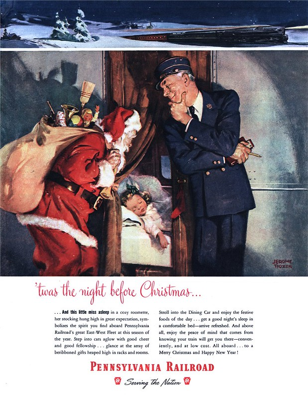 Pennsylvania Railroad - published in Look - December 23, 1947