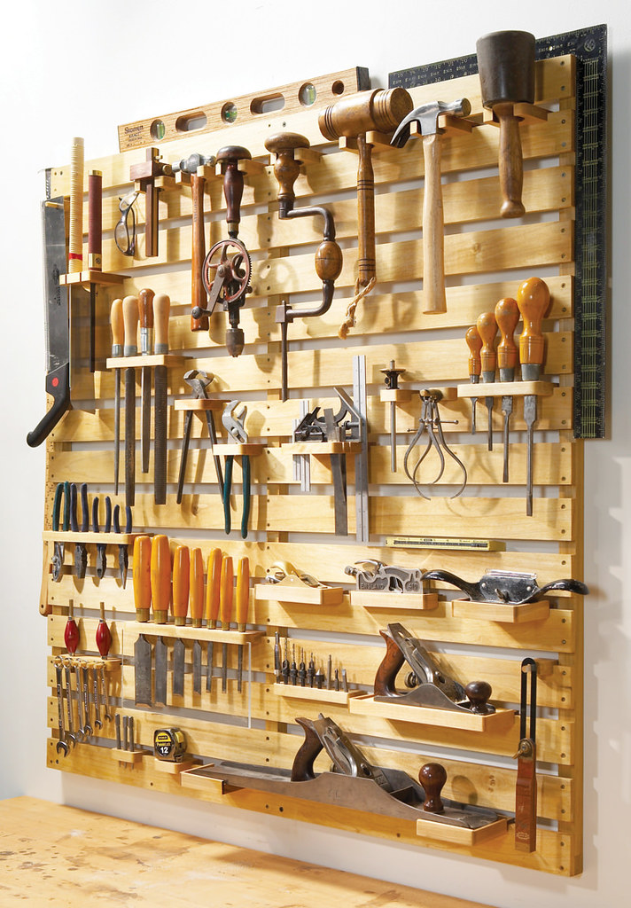 Система хранения инструмента в гараже