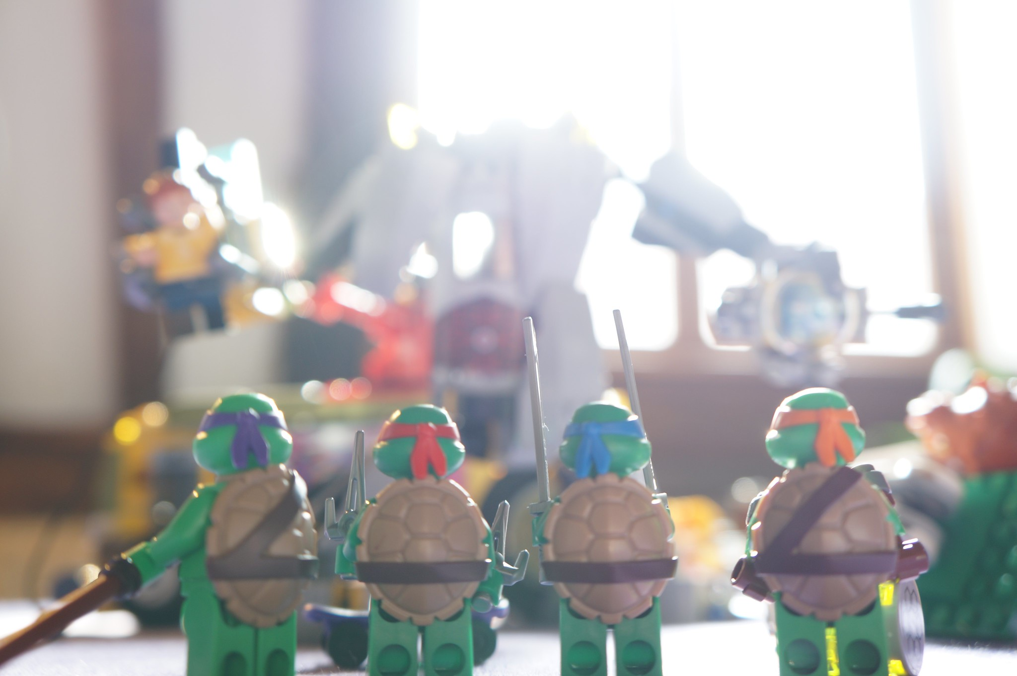 Lego X TMNT = 1995