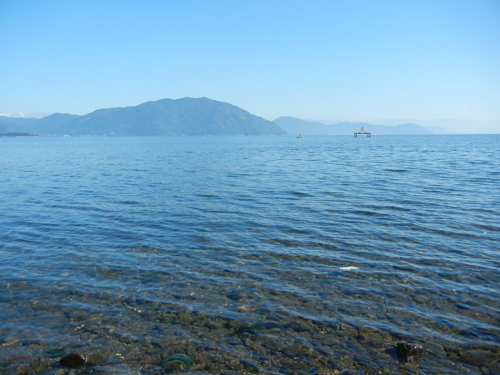 湖西からの琵琶湖