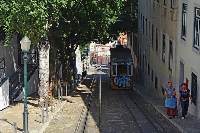 Furnicular, Lisbon, Portugal