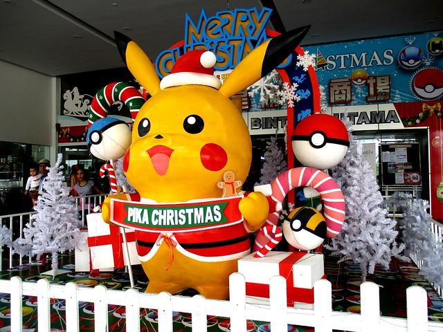 Star Mega Mall Christmas decor