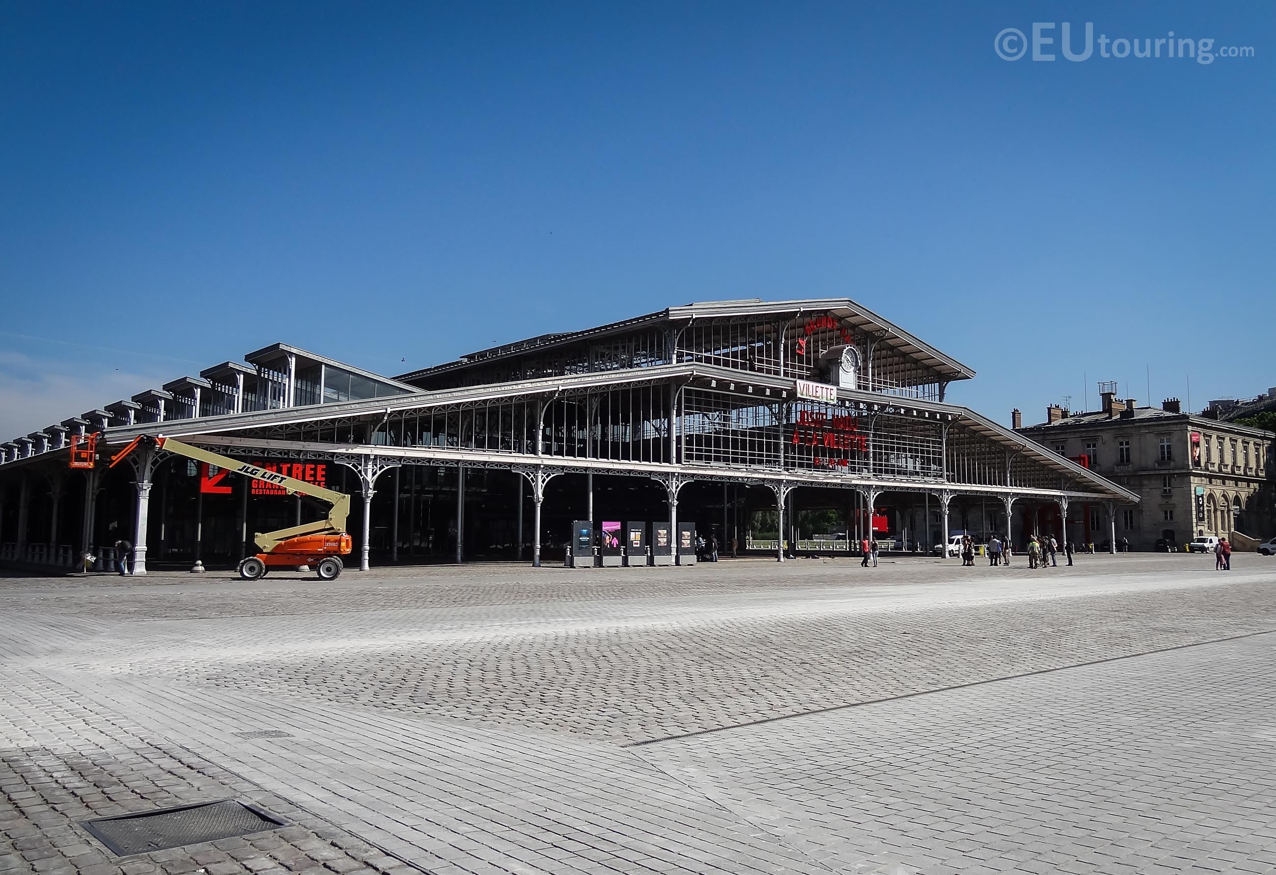 A view of La Grande Halle