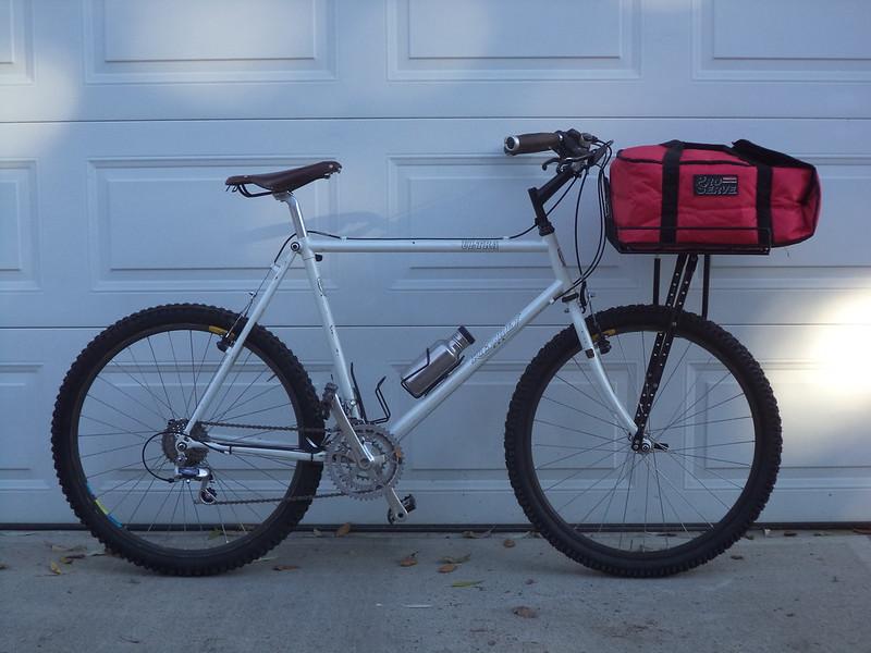 Pizza Delivery/Pick-Up Bike- Mtbr.com