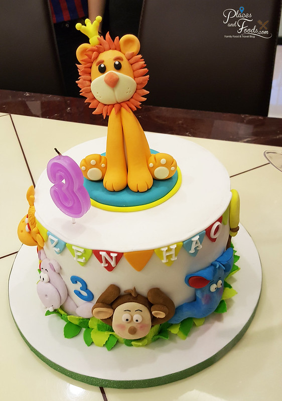 catherine cakery hao leo cake