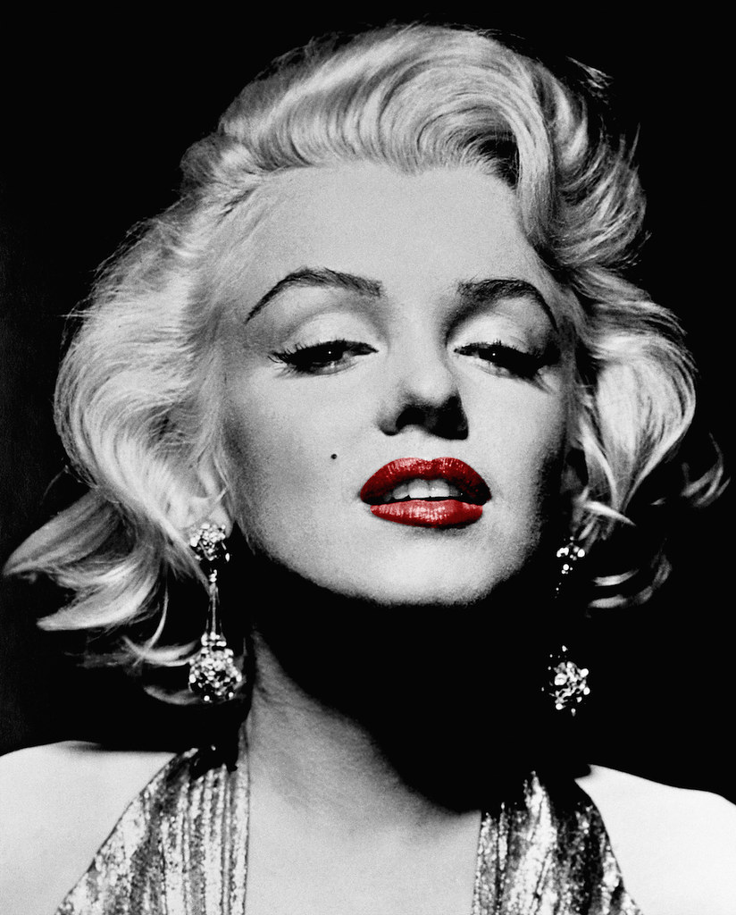 Marilyn Monroe (Red Lips) | All Rights Reserved © Mark ...