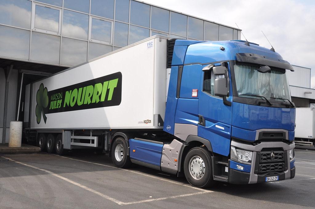 renault trucks t 520 maison jules nourrit fr dh 243 zy flickr. Black Bedroom Furniture Sets. Home Design Ideas
