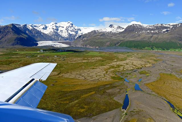 Praderas junto al Parque Nacional de Skaftafell
