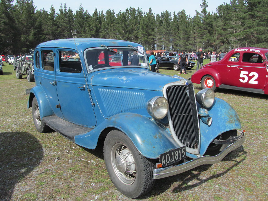 1934 Ford Model 40 What An Awesome Old Beast Bonnie And