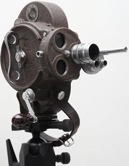 Bell & Howell Filmo 70 DL美國古董16mm攝錄機(1935) 連 Wollensak 25mm f/1.9 電影鏡