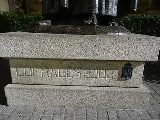 Monumento a los cofrades de Cáceres