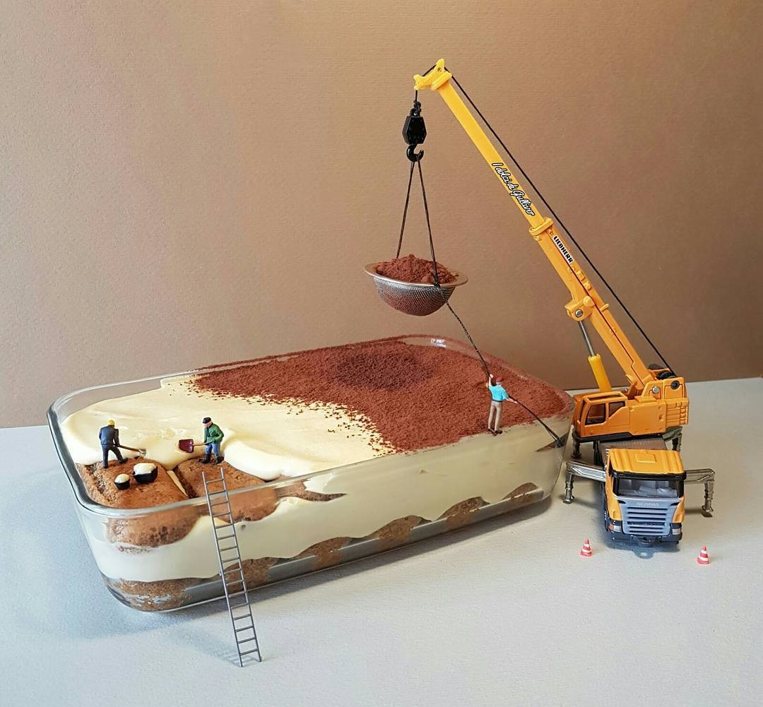 Вкусный миниатюрный мир в одном десерте  - ПоЗиТиФфЧиК - сайт позитивного настроения!