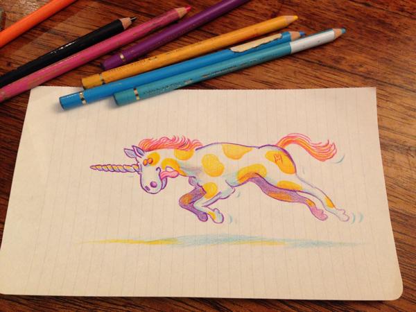 free unicorne