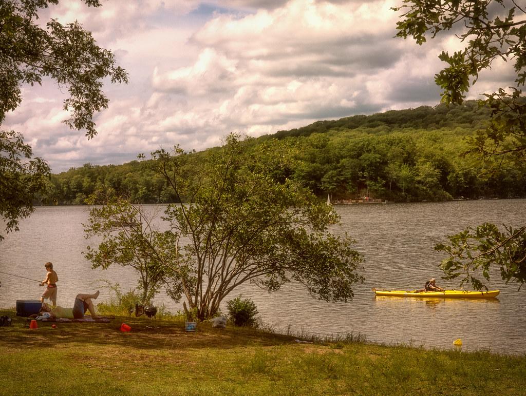 Gone fishing explore august 26 2015 lake sebago for Harriman state park fishing