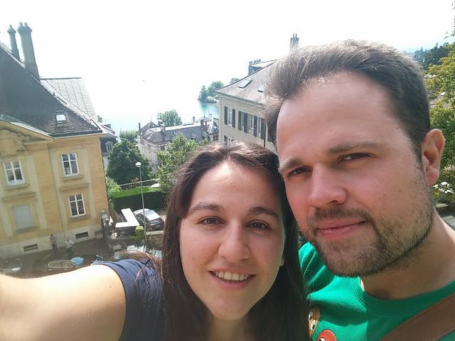 El selfie tontako hoy está en albanés
