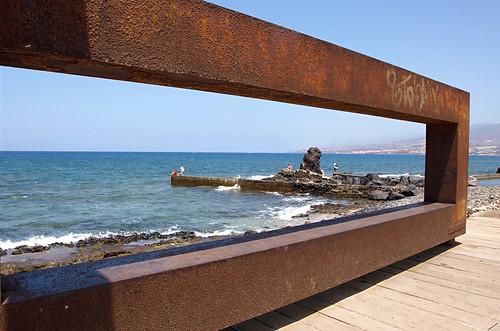 Artwork, Playa de las Américas, Tenerife