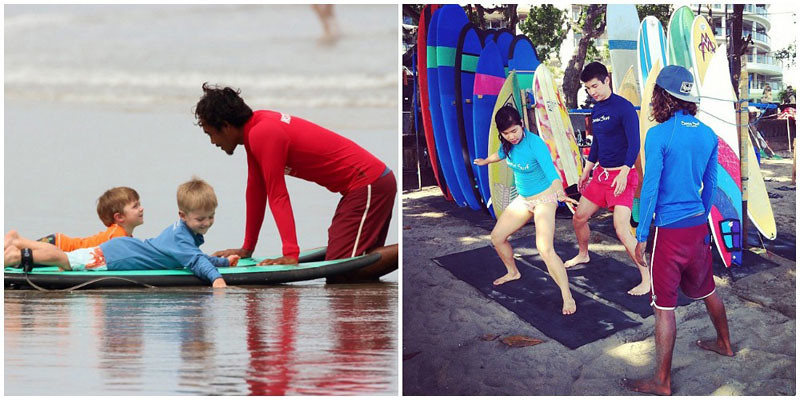 Santai Surf School Lesssons
