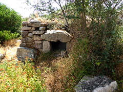 Le four à pain de la 1ère maison de Ghjuncaghjola