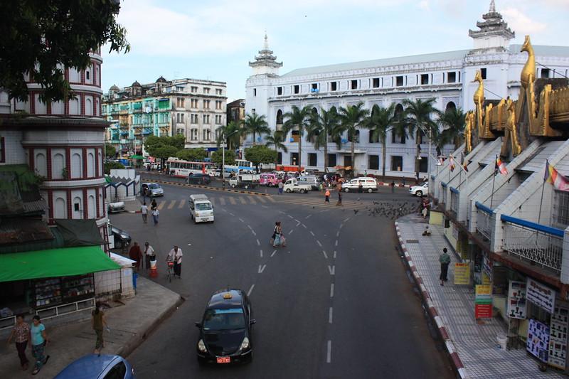 Центр Янгона (Рангуна)