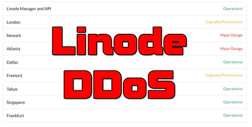 Linode DDoS Attack - Merry Xmas