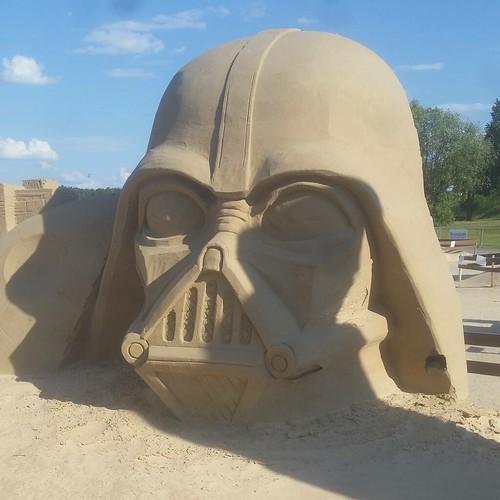 Star Wars - Darth Vader Sand Sculpture