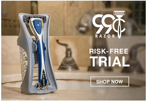 FREE TRIAL: Receive shaving razors monthly for just $0.99