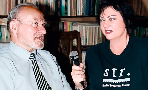 Lidia Nowicka, prof. Marek Kwiatkowski