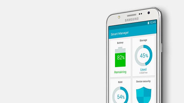 Samsung Galaxy J5 quản lý thông minh hơn